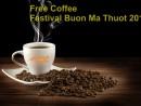 Về Buôn Mê Thuột mùa lễ hội uống cà phê miễn phí